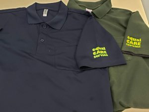 従業員用ウィンブレ・ポロシャツをリニューアル