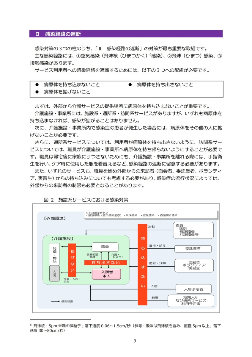 P12 介護現場における感染対策の手引き|厚労省2020/10/1