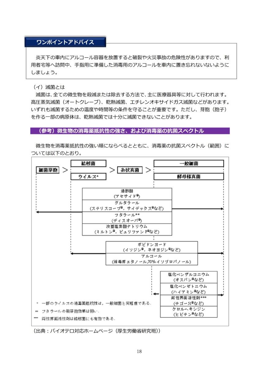 P21 介護現場における感染対策の手引き|厚労省2020/10/1