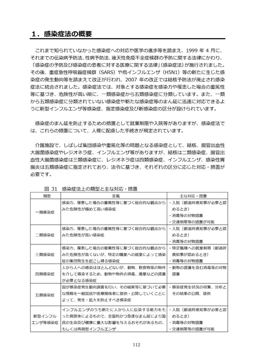 P115 介護現場における感染対策の手引き|厚労省2020/10/1