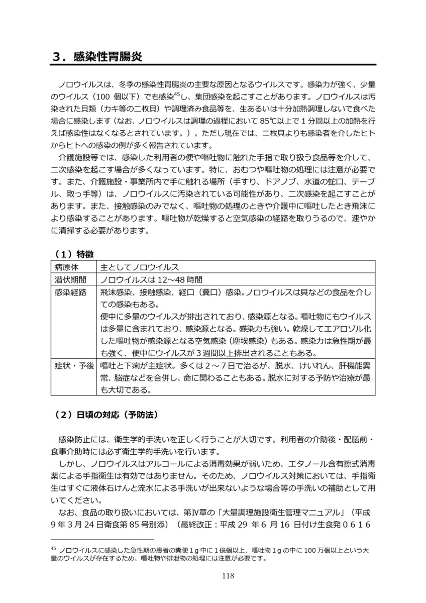 P121 介護現場における感染対策の手引き|厚労省2020/10/1