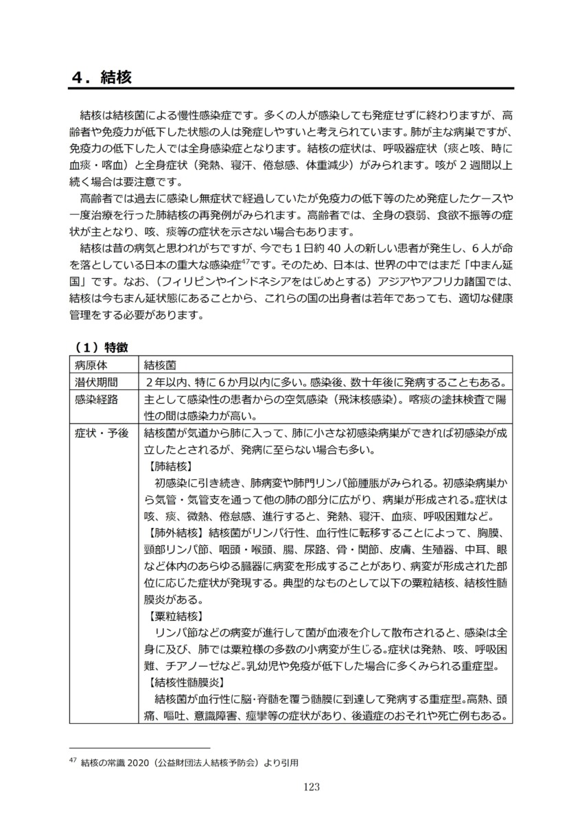P126 介護現場における感染対策の手引き|厚労省2020/10/1